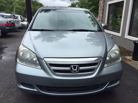 2005 Honda Odyssey for sale at Route 123 Motors in Norton MA