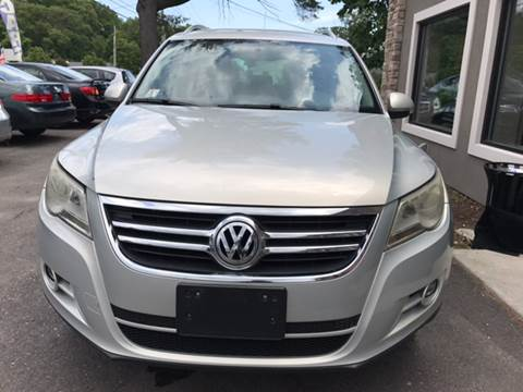 2011 Volkswagen Tiguan for sale at Route 123 Motors in Norton MA