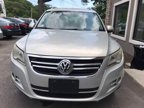 2011 Volkswagen Tiguan for sale at Route 123 Motors in Norton MA