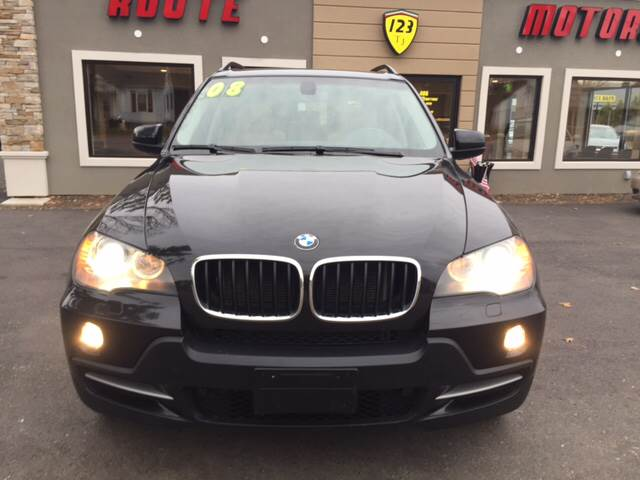 2008 BMW X5 for sale at Route 123 Motors in Norton MA