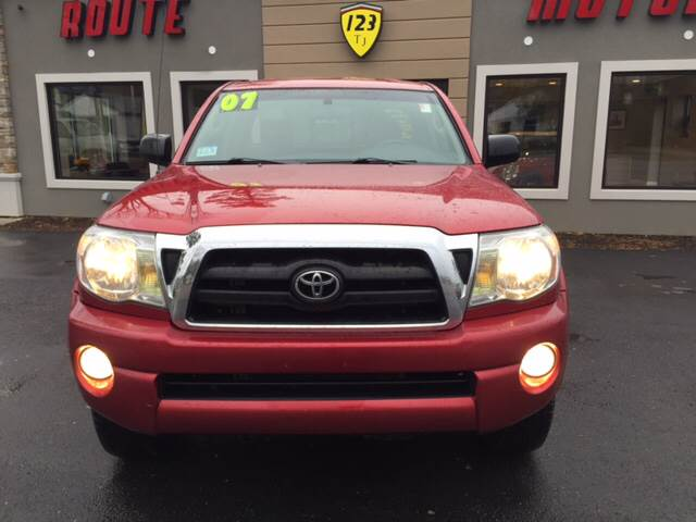 2007 Toyota Tacoma for sale at Route 123 Motors in Norton MA