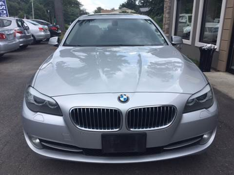 2012 BMW 5 Series for sale at Route 123 Motors in Norton MA