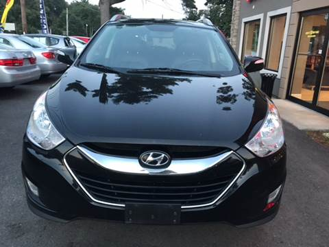 2011 Hyundai Tucson for sale at Route 123 Motors in Norton MA