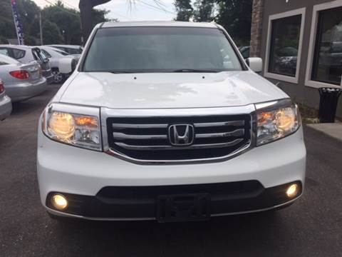 2012 Honda Pilot for sale at Route 123 Motors in Norton MA