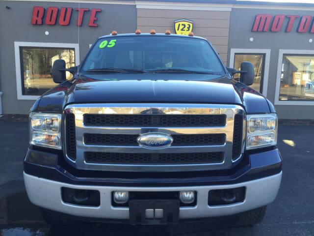 2005 Ford F-250 Super Duty for sale at Route 123 Motors in Norton MA