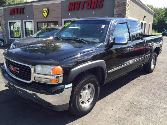 2002 GMC Sierra 1500 for sale at Route 123 Motors in Norton MA