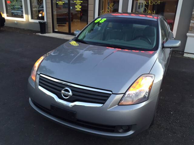 2008 Nissan Altima for sale at Route 123 Motors in Norton MA