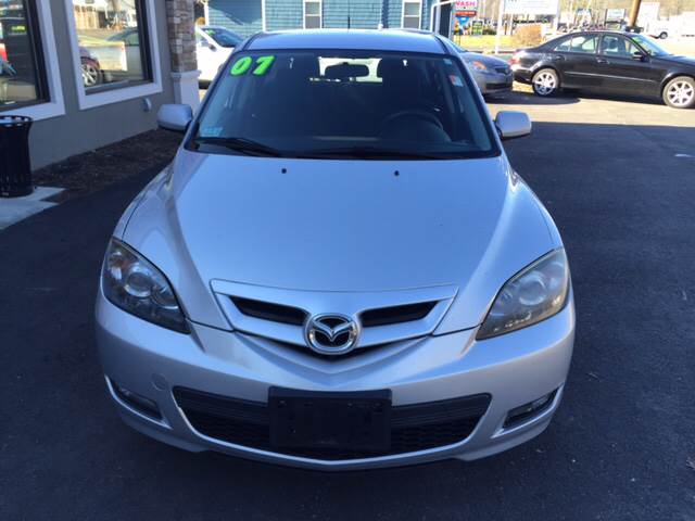 2007 Mazda MAZDA3 for sale at Route 123 Motors in Norton MA