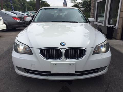 2008 BMW 5 Series for sale at Route 123 Motors in Norton MA