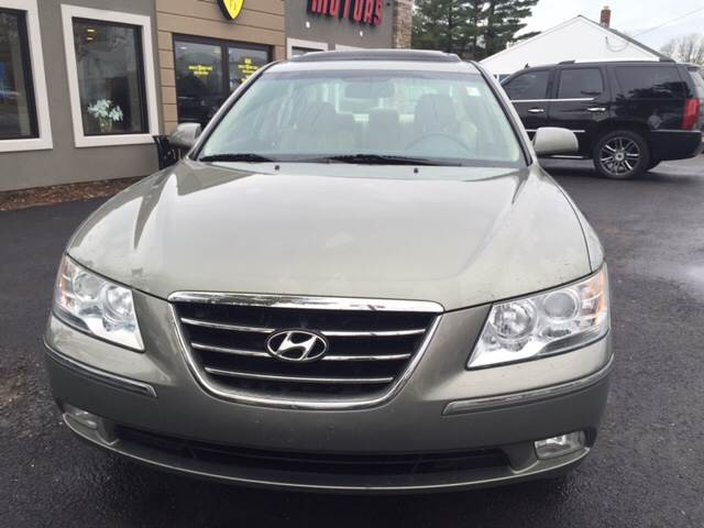 2009 Hyundai Sonata for sale at Route 123 Motors in Norton MA