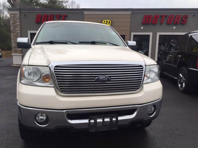 2007 Ford F-150 for sale at Route 123 Motors in Norton MA