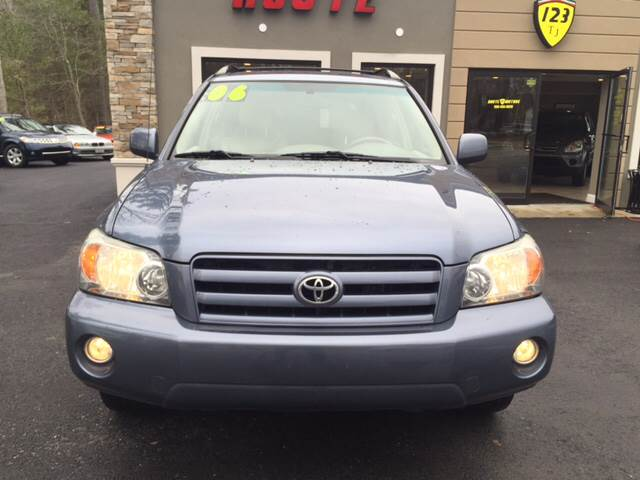2006 Toyota Highlander for sale at Route 123 Motors in Norton MA
