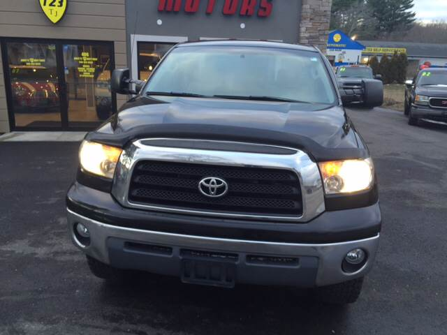 2007 Toyota Tundra for sale at Route 123 Motors in Norton MA