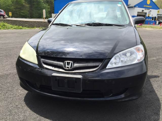 2004 Honda Civic for sale at Route 123 Motors in Norton MA