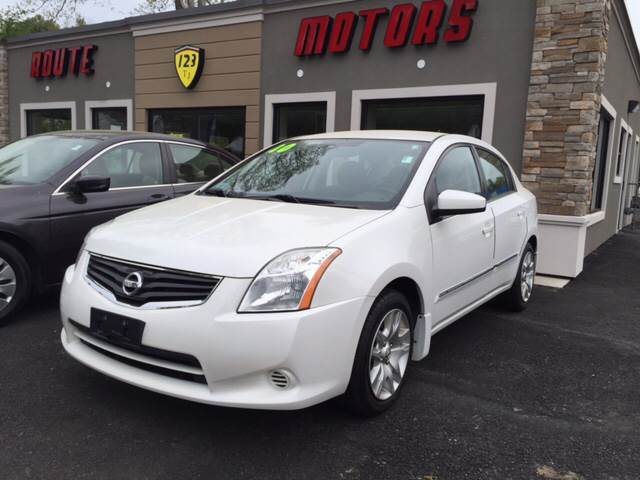 2010 Nissan Sentra for sale at Route 123 Motors in Norton MA