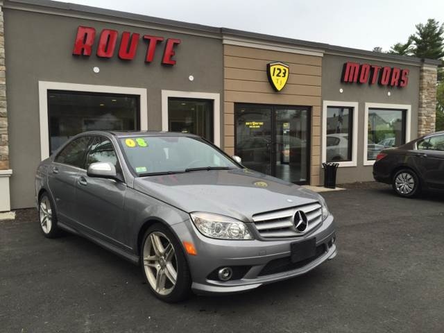 2008 Mercedes-Benz C-Class for sale at Route 123 Motors in Norton MA