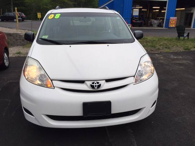 2008 Toyota Sienna for sale at Route 123 Motors in Norton MA