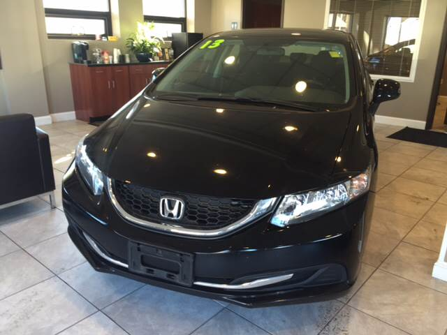 2013 Honda Civic for sale at Route 123 Motors in Norton MA