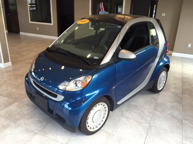 2008 Smart fortwo for sale at Route 123 Motors in Norton MA