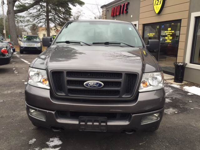 2005 Ford F-150 for sale at Route 123 Motors in Norton MA