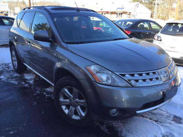 2007 Nissan Murano for sale at Route 123 Motors in Norton MA