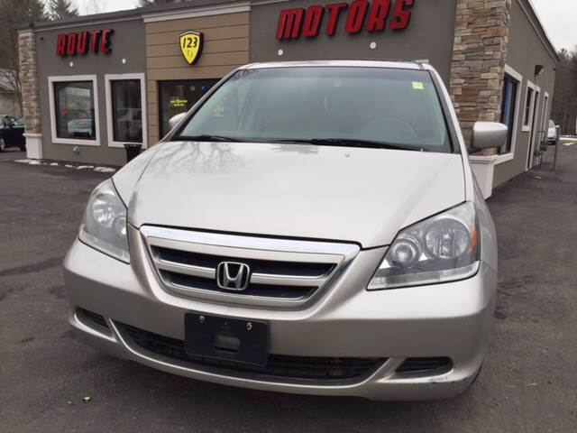 2006 Honda Odyssey for sale at Route 123 Motors in Norton MA