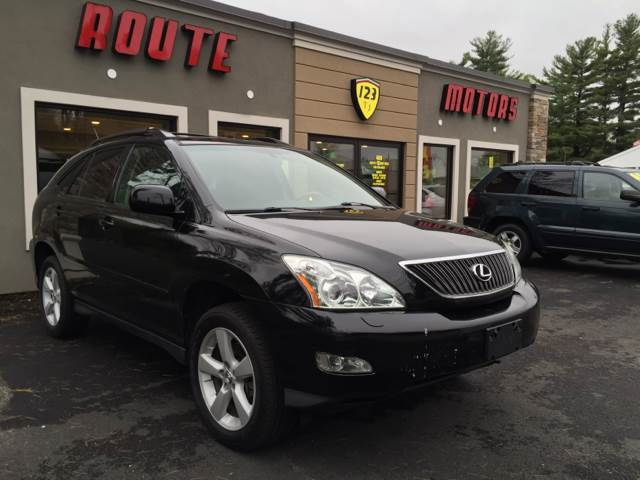 2005 Lexus RX 330 for sale at Route 123 Motors in Norton MA