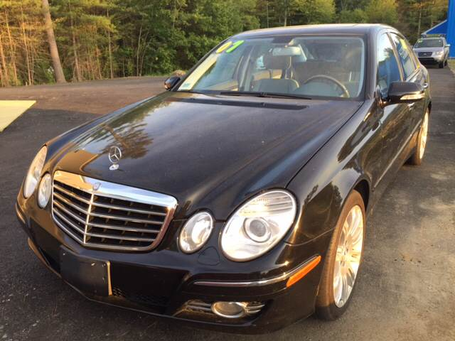 2007 Mercedes-Benz E-Class for sale at Route 123 Motors in Norton MA
