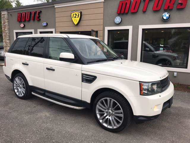 2010 Land Rover Range Rover Sport for sale at Route 123 Motors in Norton MA