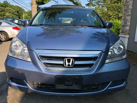 2007 Honda Odyssey for sale at Route 123 Motors in Norton MA