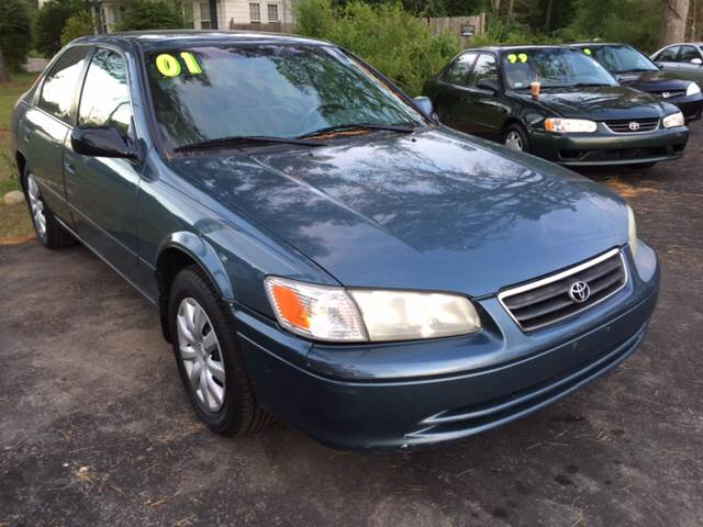 2001 Toyota Camry for sale at Route 123 Motors in Norton MA