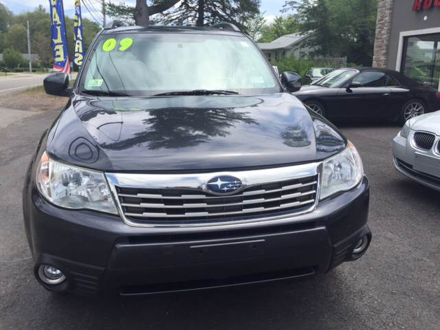 2009 Subaru Forester for sale at Route 123 Motors in Norton MA