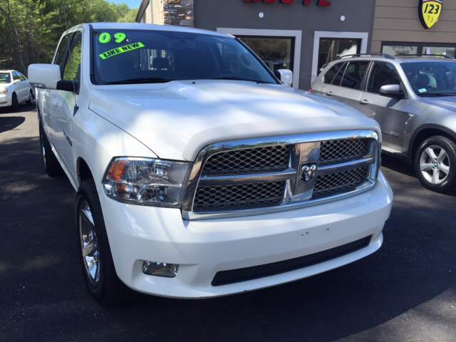 2009 Dodge Ram Pickup 1500 for sale at Route 123 Motors in Norton MA