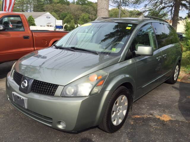 2005 Nissan Quest for sale at Route 123 Motors in Norton MA