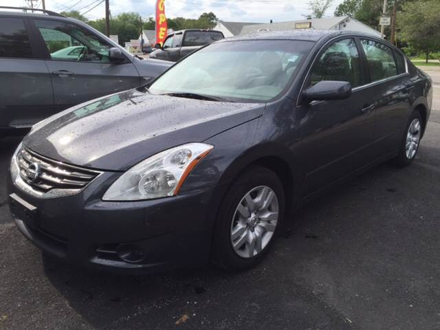 2010 Nissan Altima for sale at Route 123 Motors in Norton MA