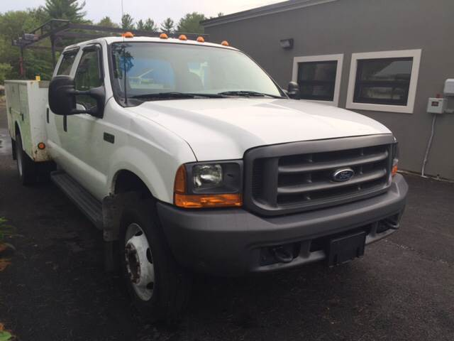 2001 Ford F-450 Super Duty for sale at Route 123 Motors in Norton MA