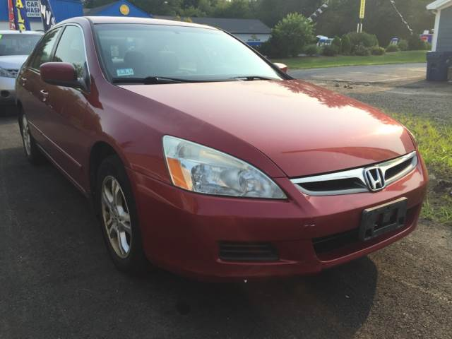 2007 Honda Accord for sale at Route 123 Motors in Norton MA