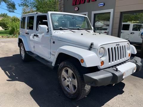 2012 Jeep Wrangler Unlimited for sale in Norton, MA