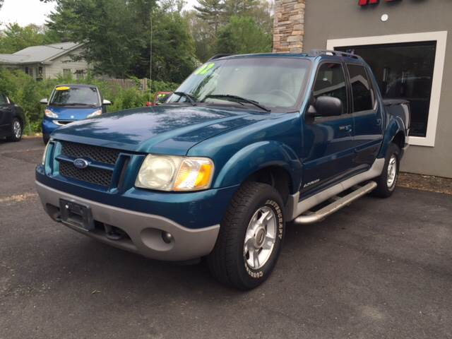 2002 Ford Explorer Sport Trac for sale at Route 123 Motors in Norton MA