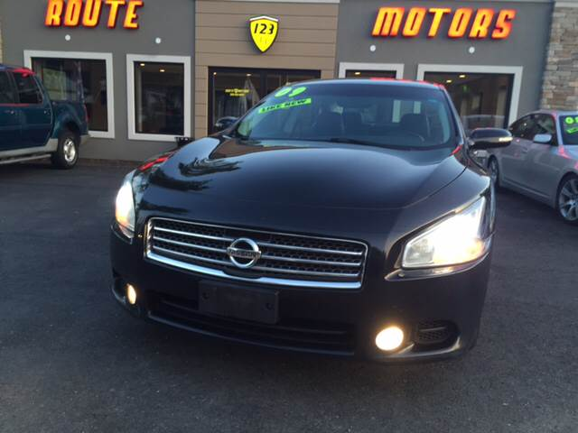2009 Nissan Maxima for sale at Route 123 Motors in Norton MA