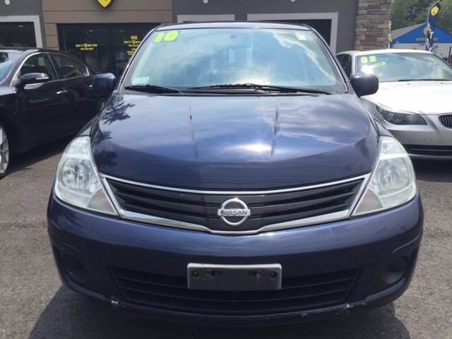 2010 Nissan Versa for sale at Route 123 Motors in Norton MA