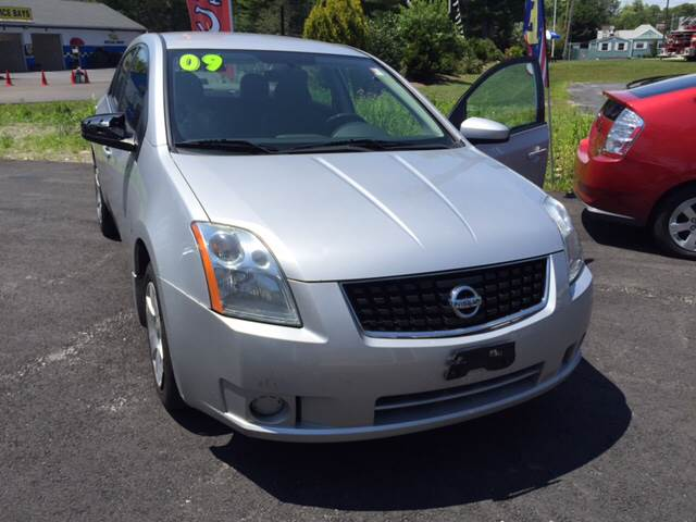 2009 Nissan Sentra for sale at Route 123 Motors in Norton MA