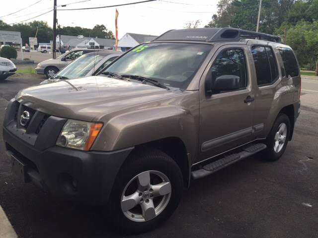 2005 Nissan Xterra for sale at Route 123 Motors in Norton MA