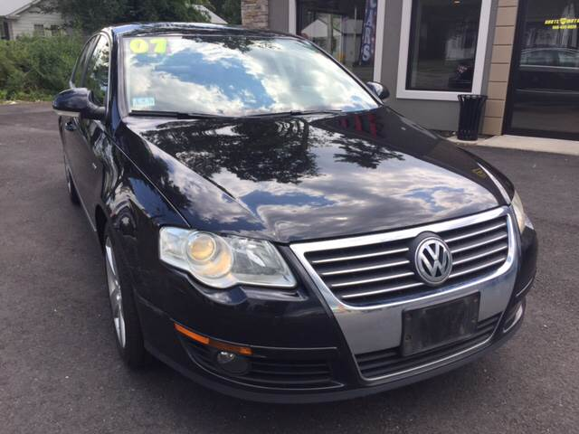 2007 Volkswagen Passat for sale at Route 123 Motors in Norton MA