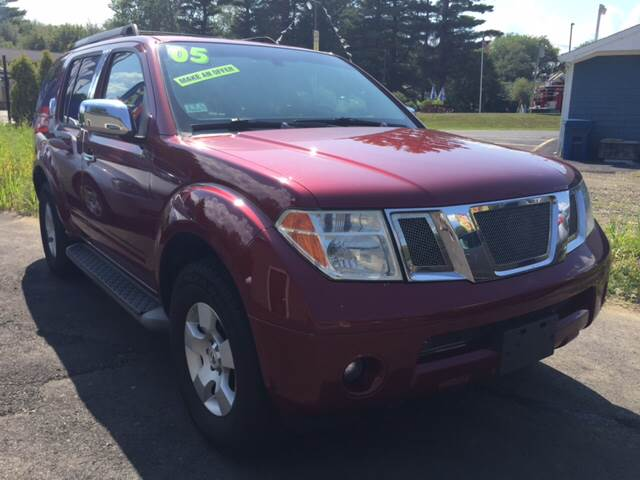 2005 Nissan Pathfinder for sale at Route 123 Motors in Norton MA
