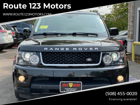 2013 Land Rover Range Rover Sport for sale at Route 123 Motors in Norton MA