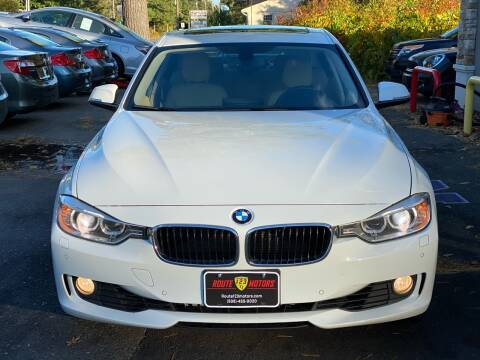 2015 BMW 3 Series for sale at Route 123 Motors in Norton MA
