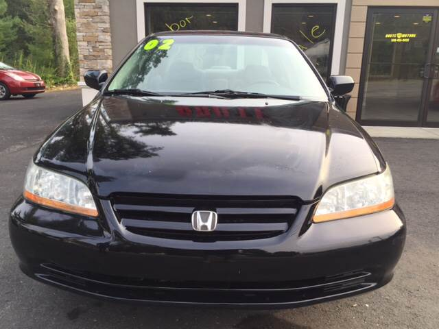 2002 Honda Accord for sale at Route 123 Motors in Norton MA