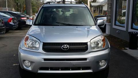 2005 Toyota RAV4 for sale at Route 123 Motors in Norton MA