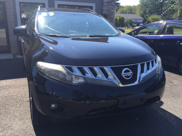 2009 Nissan Murano for sale at Route 123 Motors in Norton MA